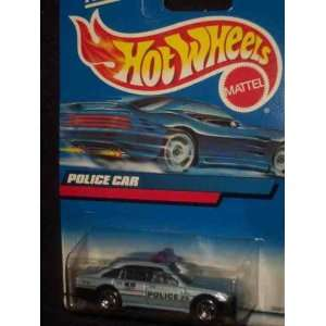 207 Police Car Collectible Collector Car Mattel Hot Wheels 164 Scale