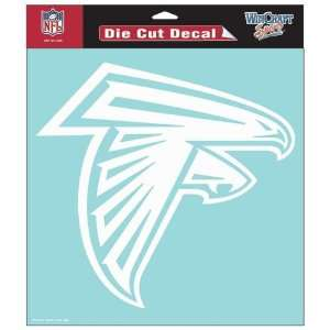 Atlanta Falcons 8X8 White Die Cut Window Decal/Film