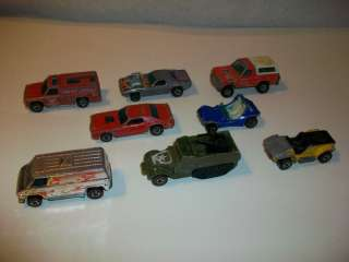 Hot Wheels 7 Red Lines 1 Real Rider