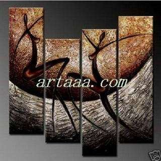 Liu figure abstract art oil painting Modern pig knife & girl gifts 44
