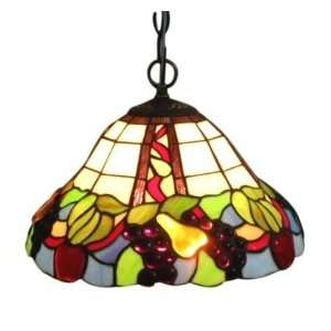 Tiffany style Fruity Hanging Fixture