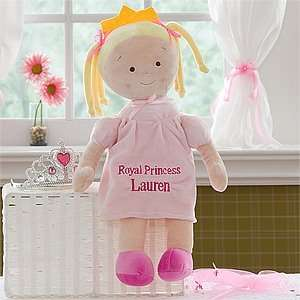 Personalized Princess Doll   Blonde Toys & Games