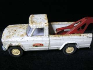 JEEP Old Vtg Antique 1960s Tonka Wrecker Tow Truck Mound, MN