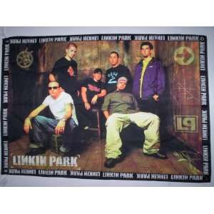 LINKIN PARK 5x3 Feet Cloth Textile Fabric Poster