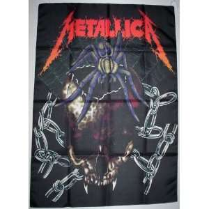 METALLICA 5x3 Feet Cloth Textile Fabric Poster