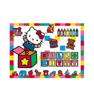 Hello Kitty in the Toy Box 100 Piece Puzzle Toys & Games