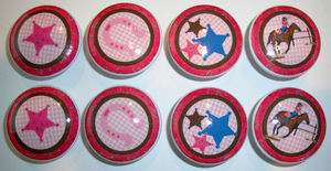 Western Cowgirl Dresser Drawer Knobs Bedding and Nursery Accessory