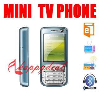 Dual sim 2 sim MINI TV Cell Phone mobile Unlocked GSM Mobile AT&T T