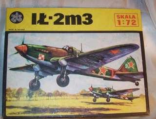 ZTS ~ IT 2m3 POLISH WWII AIRCRAFT ~ PLASTIC MODEL KIT ~ FOR PARTS