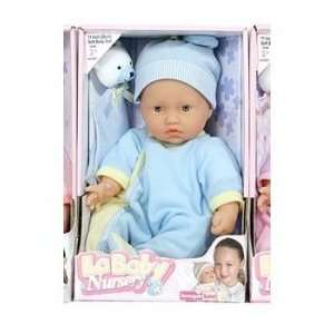 Berenguer Dolls La Baby White Soft Body Doll in Blue   11 Inches