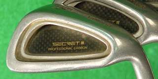 Yamaha Secret III Professional Carbon Irons 3 PW Graphite Regular