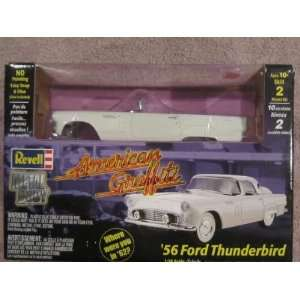 American Graffiti 1956 Ford Thunderbird Model Toys