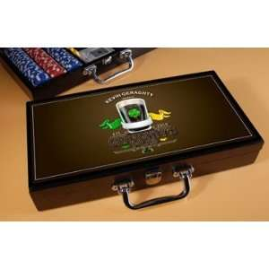 Irish Pub Personalized Poker Set