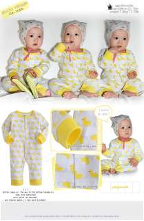 in Korea Ducky Villiage Baby Boy Girl Infant Cotton Clothing / OA 1084