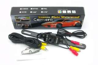 CAR REAR VIEW CAMERA REVERSE COLOUR RECORDER LICENSE PLATE