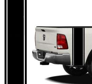 Dodge Ram Dodge Dakota Bed Side Stripes Decals Solid 1