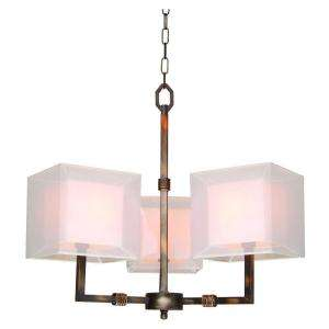 Hampton Bay Angelina 3 Light Hanging Rust Chandelier 17119 023 at The