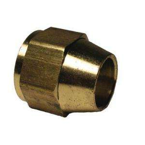 Watts 3/8 in. Brass Short Rod Flare Nut A 160