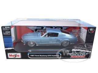car model of 1967 Ford Mustang GTA Pro Rodz die cast car by Maisto