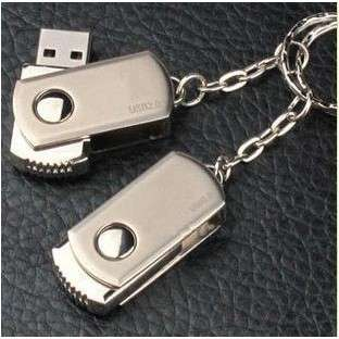 Metal Rotation 8GB 16GB 32GB USB Memory Stick Flash Pen Drive