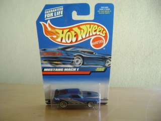 HOT WHEELS 1999 MUSTANG MACH 1 #1105