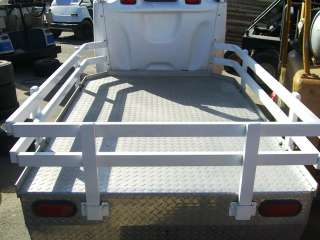 GEM e825 aluminum UTILITY Long Bed Golf Cart Flatbed Electric