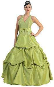 Beautiful Long Ball Gown Prom Party Dress many colors XS S M L XL 1XL