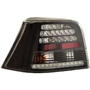 Anzo USA 321065 Volkswagen Golf Black LED Tail Light Assembly   (Sold