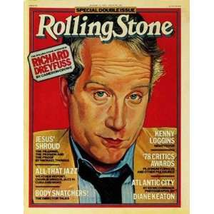 Richard Dreyfuss (illustration), 1978 Rolling Stone Cover