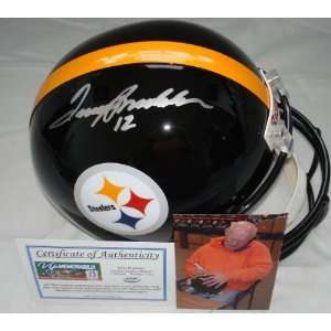 Terry Bradshaw Hand Signed Pittsburgh Steelers Replica