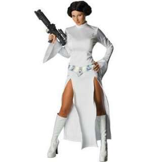 Star Wars Sexy Princess Leia Adult Costume   Includes Dress, belt and