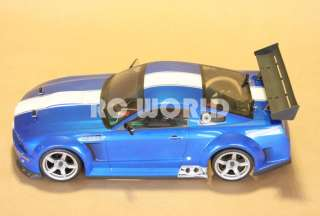 10 RC FORD MUSTANG GTR COBRA SHELBY RACE CAR BRUSHLESS RTR  NEW  40