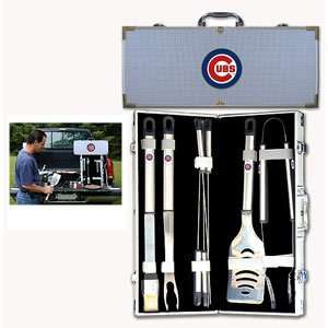 Chicago Cubs MLB Barbeque Utensil Set w/Case (8 Pc.)