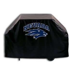 Nevada Wolf Pack BBQ Grill Cover   NCAA Series Patio