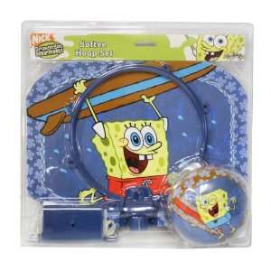 Spongebob Squarepants Softee Hoop Mini Basketball Set Toys & Games
