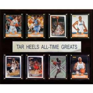 NCAA Basketball North Carolina Tar Heels All Time Greats Plaque