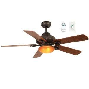 FRV52BBZ5CRW Fairview 52 Inch Five Blade Ceiling Fan with Remote