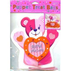 Cello Treat Bags   Teddy Bear Shaped Bags   36 Cnt