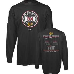 Time Stanley Cup Champions Long Sleeve T Shirt