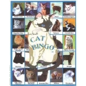 Cat Bingo Educational Game Toys & Games