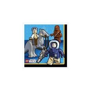 LEGO Star Wars Lunch Napkins Toys & Games
