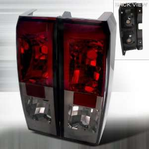 2006 2008 Hummer H3 Altezza Tail Light Red Smoke