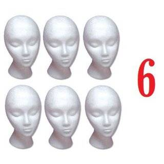 Heads w/ Stabili Base Design by 3rd Power   Hat Wig Foam Mannequin
