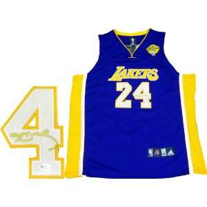 2010 NBA Finals Authentic Purple Los Angeles Lakers Jersey (OAI