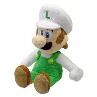 Officially Licensed Super Mario Plush 9 Fire Luigi Japanese Import