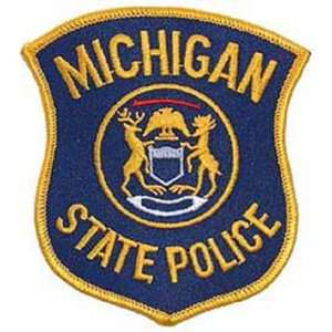 Michigan State Police Patch 3 Patio, Lawn & Garden