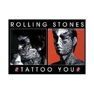 The Rolling Stones   Tattoo You   Button Magnet Office