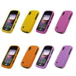 Cases (Hot Pink, Yellow, Orange, Light Purple) for Samsung Solstice