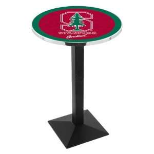 Stanford Counter Height Pub Table   Square Base   NCAA