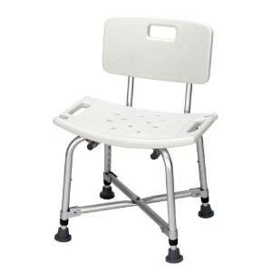 Bariatric Heavy Duty Shower Bench w/ Back